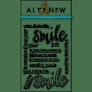 Altenew Halftone Smile Stamps