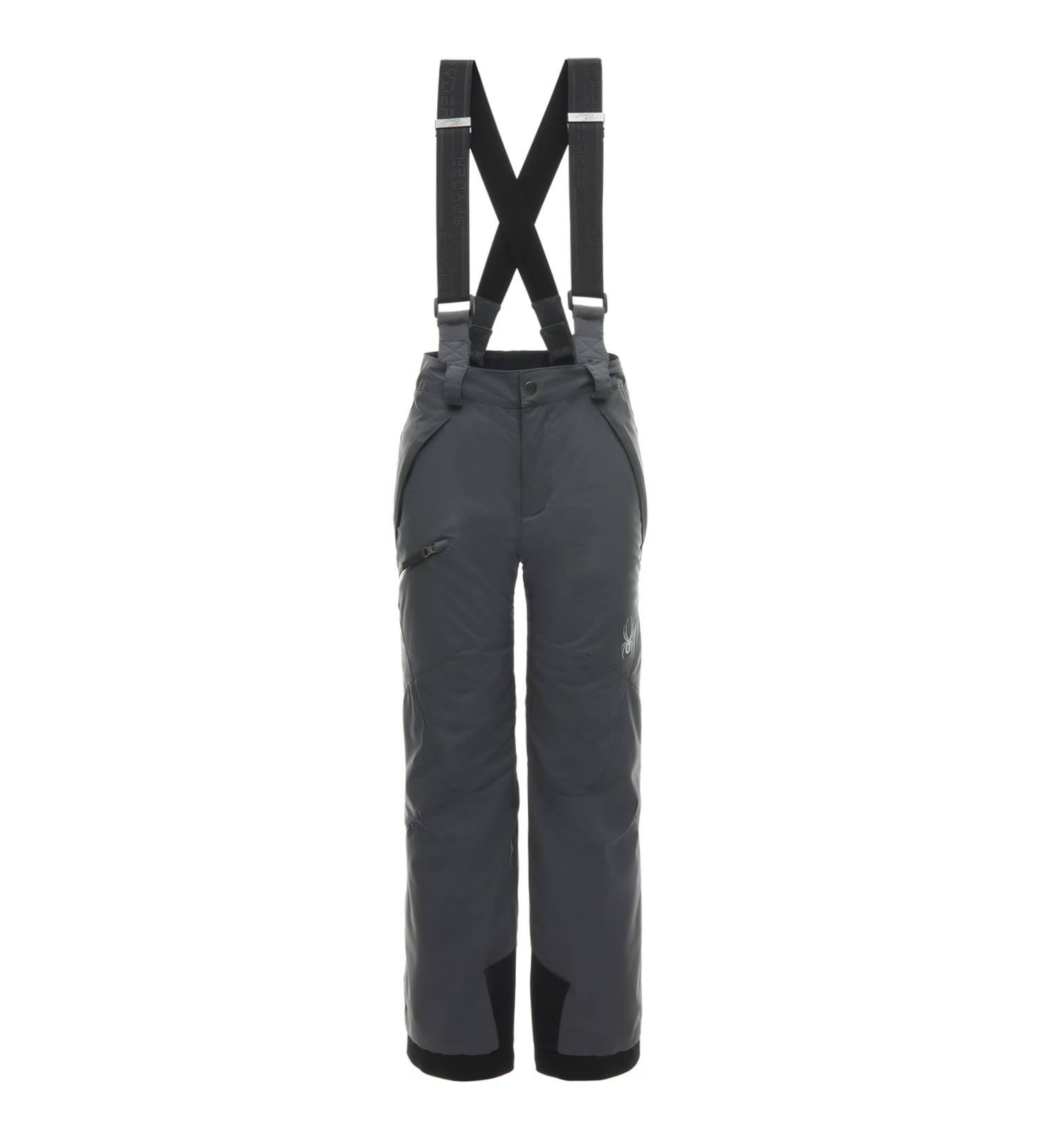 Pantalón Spyder 069 Propulsión De 8 Boy Polares Negros Lluvia Gris Pantalones 7rw7BqE