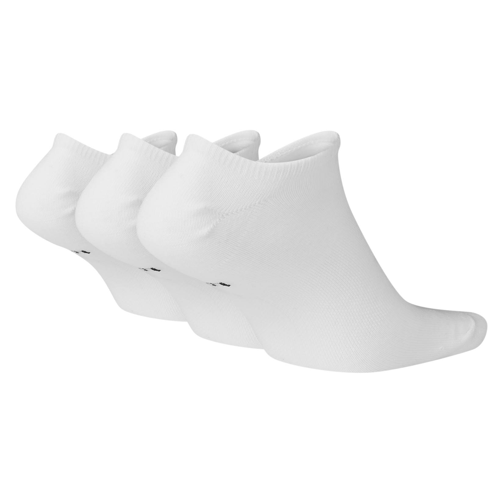 Nike Sportswear Everyday Essential No Show Socks White Black
